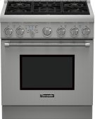 30 inch Professional Series Pro Harmony Standard Depth Dual Fuel Range PRD305PH Product Image