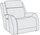 Rawlings Power Motion Recliner (Glider) Product Image
