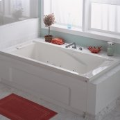 Green Tea 60x36 inch Bathtub - White
