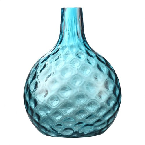 Globe Vase Ink Blue