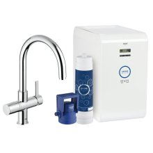 GROHE Blue Chilled & Sparkling Kitchen Faucet Starter Kit