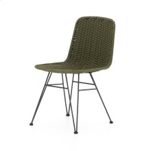 Olive Rope Cover Dema Outdoor Dining Chair