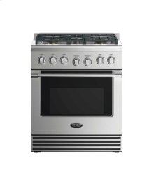 "30"" Gas Range: 5 Burners"