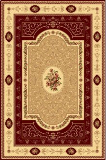 New Vision French Aubusson Cherry