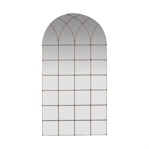 Gilded Arch Floor Mirror