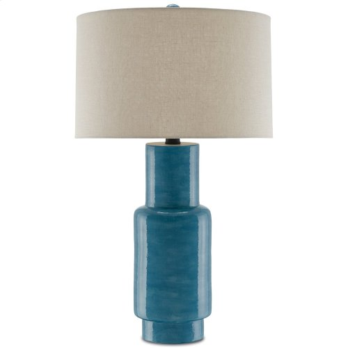 Janeen Blue Table Lamp