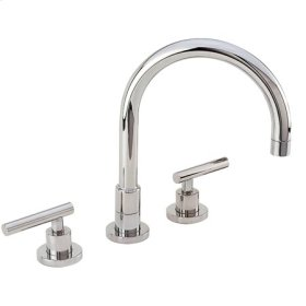 English Bronze Kitchen Faucet