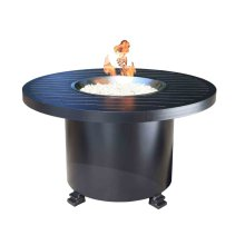 """Outdoor Fire Pit : Natural Gas Monaco 42"""" Round"""