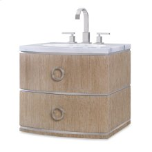 Cirque Petite Wall Sink Chest -Accordion
