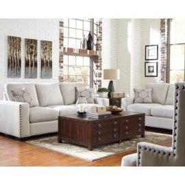 Rosanna Ivory Three-piece Living Room Set