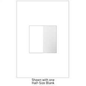 Blank, Half-Size, White