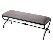 Remy Forged Bench - Taupe