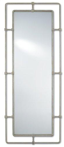 Metro Silver Large Mirror - 60h x 24w x 1.5d