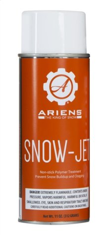Ariens SNOW-JET Non-Stick Polymer Coating - 4.25-oz. Aerosol Spray Can