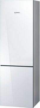 "800 Series 24"" Glass Door Counter-Depth Bottom Freezer B10CB80NVW 800 Series Product Image"