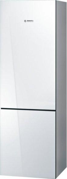 "800 Series 24"" Glass Door Counter-Depth Bottom Freezer B10CB80NVW 800 Series"