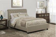 Napelton Queen Bed - Linen Sandstone