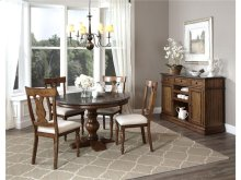 Intercon Dining Room Luciano Pedestal Dining Base