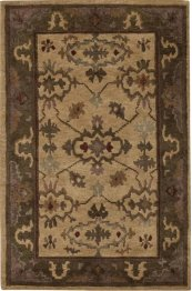 Tahoe Ta06 Ivory Rectangle Rug 3'9'' X 5'9''