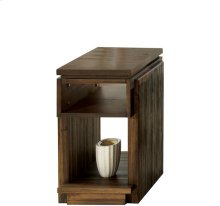 Modern Gatherings Chairside Table Brushed Acacia finish