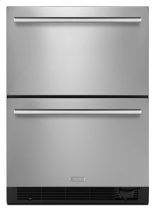 "24"" Euro-Style Refrigerator/Freezer Drawers"