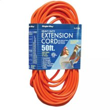 16/3 50 ft. Orange Extension Cord