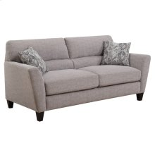 Sofa W/2 Accent Pillows Speckled Brown #k2080-13