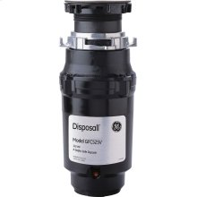GE® 1/2 HP Continuous Feed Garbage Disposer - Corded