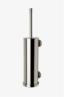 Waterworks Essentials Wall Mounted Watercloset Brush with Holder STYLE: WEBR02