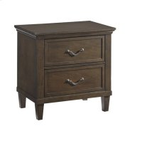 Nightstand - Hazelnut Finish Product Image