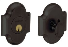 Oil-Rubbed Bronze Arched Deadbolt