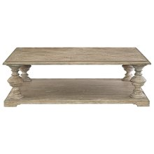 Campania Cocktail Table in Weathered Sand (370)
