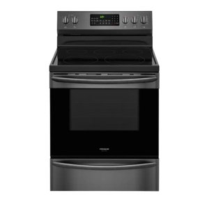 30'' Electric Range - BLACK STAINLESS STEEL