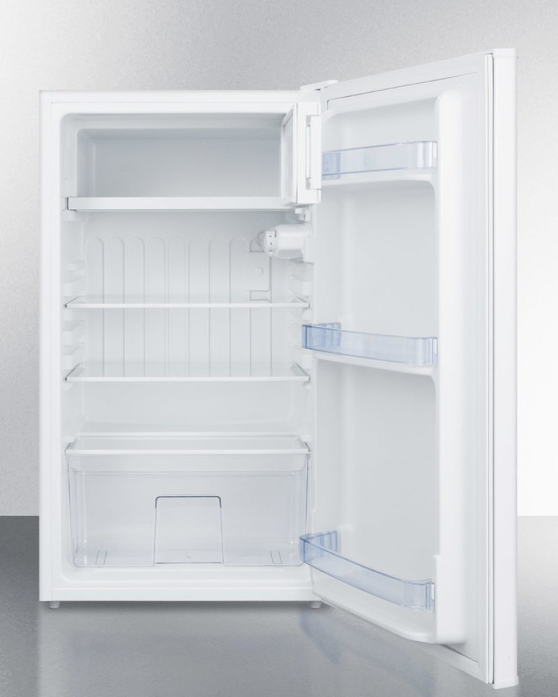 Counter Height Refrigerator And Freezer : Counter Height Refrigerator-freezer In White for Residential Use, With ...