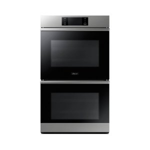 """DACOR30"""" Steam-Assisted Double Wall Oven, Graphite Stainless Steel"""
