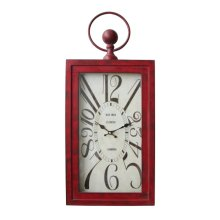 Wavin' Red Wall Clock