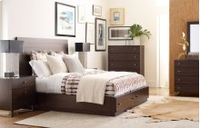 Austin by Rachael Ray Panel Bed w/ Storage Queen, 5/0