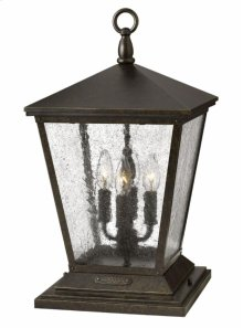 Regency Bronze Trellis Hospitality Post & Pier Mount