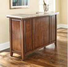 "Eileen Bar Server Marble Top 54"" x 24"""