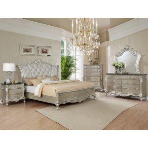 Crown Mark B1020 Angelina Queen Bedroom