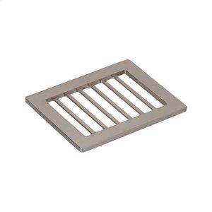 Satin Nickel Shower Shelf - Soap Holder