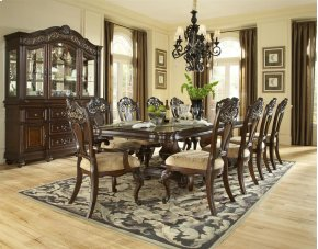 Baronet Pedestal Table Base