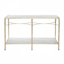 Sangallo Marble Top Console Table