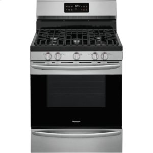 FrigidaireGALLERY Gallery 30'' Freestanding Gas Range with Steam Clean