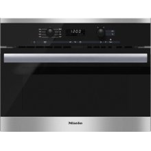 M 6260 TC Built-in microwave oven with controls along the top for optimal combination possibilities.