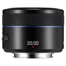45mm F1.8 2D/3D NX Lens