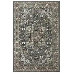 Rhodes Ash Grey Rectangle 9ft 6in X 12ft 11in