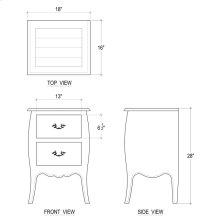 Carina Nightstand Cabinet
