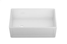 """Fira 083319 - undermount with apron front fireclay Kitchen sink , 31 1/4"""" × 17 1/2"""" × 10"""""""