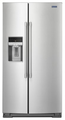 36- Inch Wide Counter Depth Side-by-Side Refrigerator- 21 Cu. Ft.